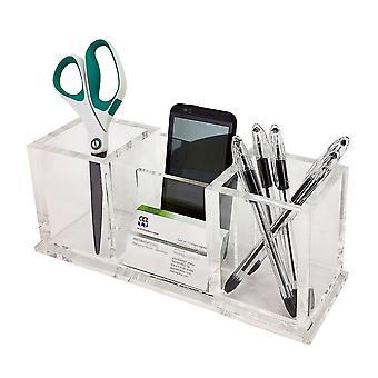 OnDisplay Pierce Deluxe Acrylic Desktop Organizer