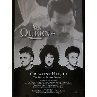 Queen  Greatest Hits III Poster