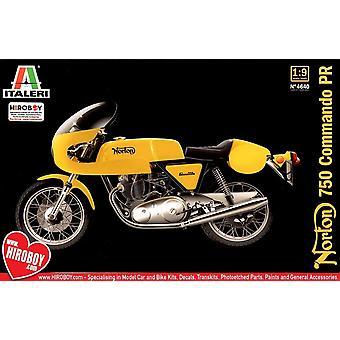 Italeri 1:9 Norton Commando PR 750cc voertuig
