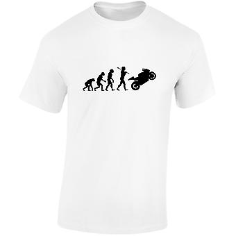 Bikes Evolution Mens Motorbike T-Shirt 10 Colours (S-3XL) by swagwear