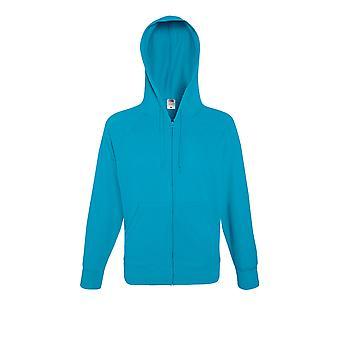 Fruit Of The Loom Mens Lightweight Hooded Zip Sweat Jacket