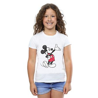 Disney Girls Mickey Mouse Traditional Wave T-Shirt