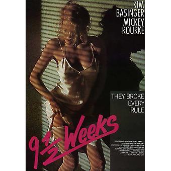 9 12 周电影海报 (11 x 17)