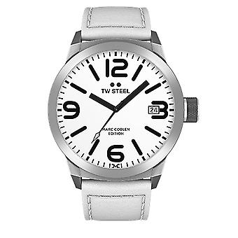 TW steel mens watch Marc Coblen Edition TWMC20 wrist watch leather band