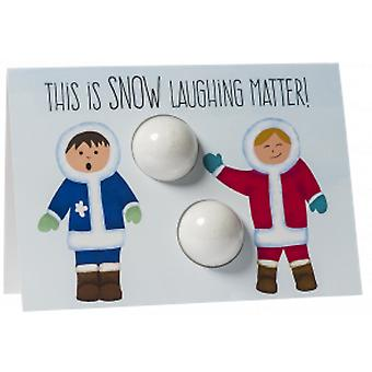 Bomb Cosmetics Blaster Card - Snow Laughing Matter