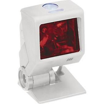 Barcodescanner van Honeywell AIDC Quantum T snoer 1D Laser wit Desktop USB