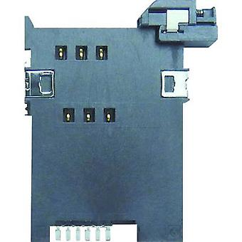 Yamaichi SIM Card connector No. of contacts: 6 Push FMS006-2310-0 1 pc(s)