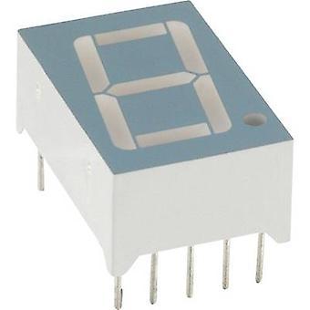 LUMEX Seven-segment display Red 14.2 mm 1.8 V No. of digits: 1 LDS-C516 RI