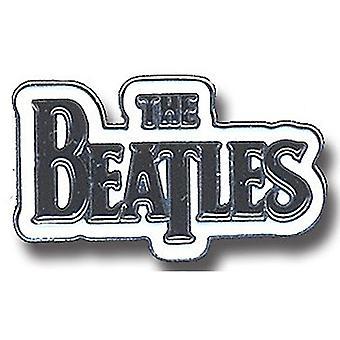 Beatles падение T логотип металла / эмаль значок