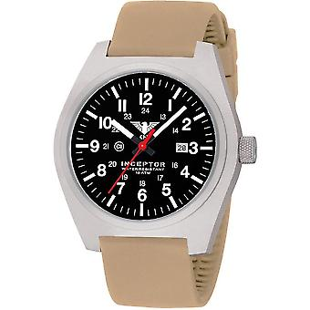 KHS męskie zegarek stal interceptor KHS. INÈS. ST