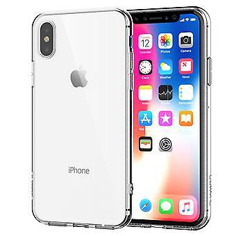 Apple iPhone X Custodia/cover trasparente in silicone