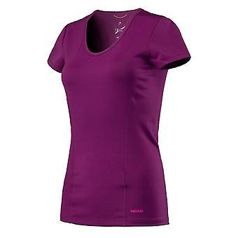 Pää vision t-paita naisten violetti 814337
