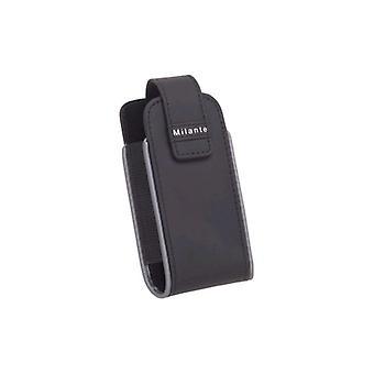 Milante - Vertical Holster for Blackberry Pearl 8100, 8110 - Black