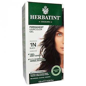 Herbatint, Black Hair Colour 1N, 150ml