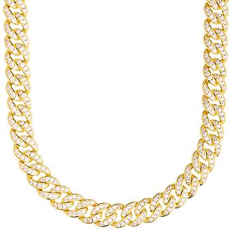 Premium bling Sterling 925 Silver Miami Cuban chain - 9mm
