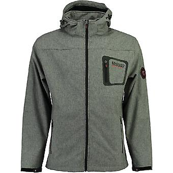 Geographical Norway Softshell jacket - TEXSHELL dark grey