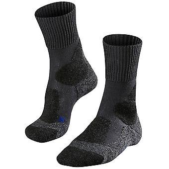 Falke Trekking 1 starke coole Socken - dunkelgrau