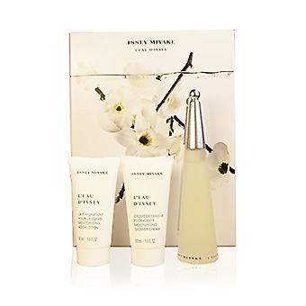 Issey Miyake L'eau d'Issey Gift Set 50ml EDT + 50 ml Body Lotion + 50ml duschcreme