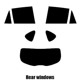 Pre cut window tint - Mazda CX-5 - 2013 and newer - Rear windows