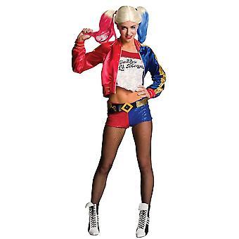 Rubiineja Harley Quinn puku Fancy Dress-takki Set