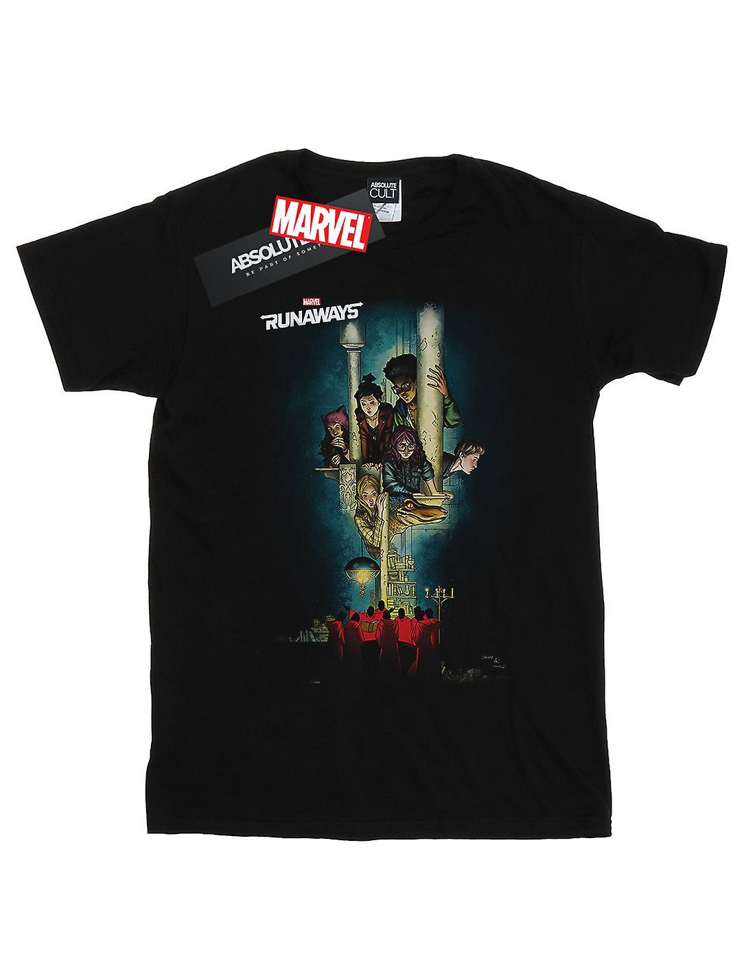 Marvel Girls Runaways Poster T-Shirt