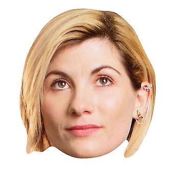 Jodie Whittaker 13th Doctor Who Official Single 2D Card Party Fancy Dress Mask