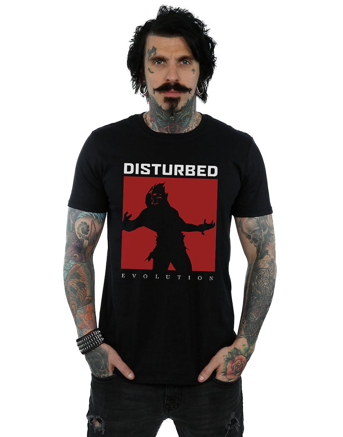 Disturbed Men's Evolution Square T-Shirt