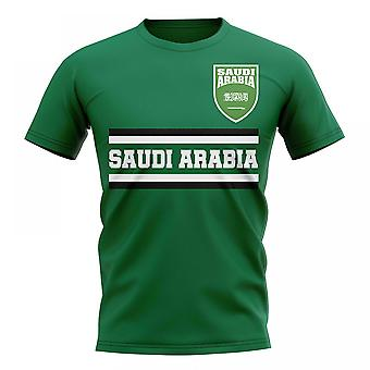 Arabia Saudita Core calcio paese t-shirt (Green)