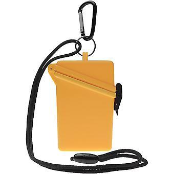 Witz houden het veilige lichtgewicht waterdichte Sport Case - geel