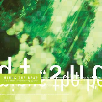 Minus the Bear - This Is What I Know About Being Gigantic [Vinyl] USA import