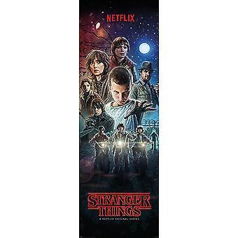 Stranger Things Door Poster