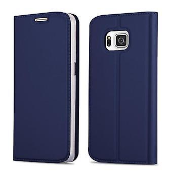 Estojo Cadorabo para tampa da caixa samsung Galaxy ALPHA - estojo telefônico com fecho magnético, função de suporte e compartimento do cartão - Case Cover Protective Case Case Book Estilo de dobrável