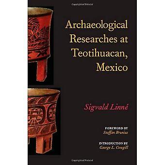 Archäologische Forschungen in Teotihuacan, Mexiko