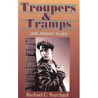 Troupers and Tramps : One Person Plays
