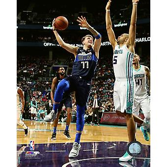 Luka Doncic 2018-19 Action Photo Print