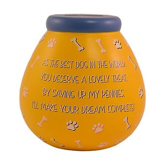 Pots Of Dreams Dog Treat Fund Money Pot
