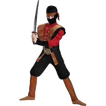 Boys Muscle Ninja Warrior Costume