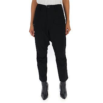 Yohji Yamamoto Nvp06100 Women's Black Cotton Pants