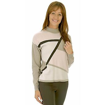LEBEK Sweater 3651 Coffee