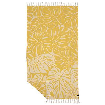 Slowtide Tarovine Beach Towel in Mustard