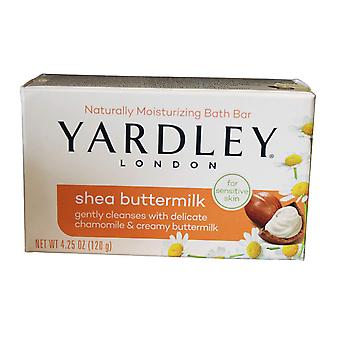 Yardley London Moisturizing Bath bar 120g jabón-Shea Buttermilk