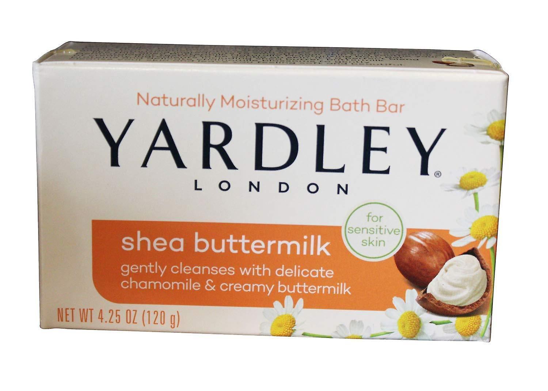 Yardley London Moisturizing Bath Bar 120g Soap - Shea Buttermilk