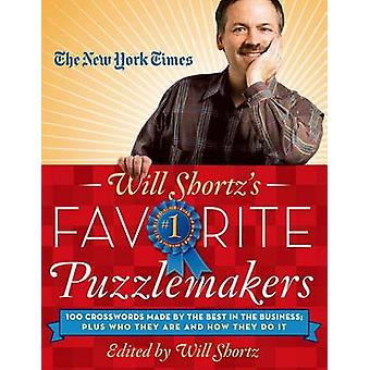 The New York Times Will Shortz's Favorite Puzzlemakers - 100 Crossword