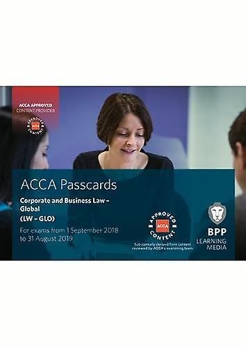 ACCA Corporate and Business Law (Global) - Passcards by BPP Learning M