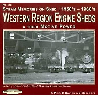 Steam Memories 1950's-1960's Western Region Engine Sheds - and Their M