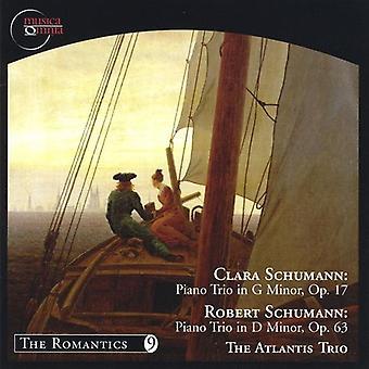 Atlantis Trio - Clara Schumann: Piano Trio in G Minor, Op. 17; Robert Schumann: Piano Trio in D Minor, Op. 63 [CD] USA import