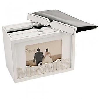 Amore Mr y Mrs Photo Storage Box | Regalos de escogidos