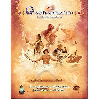Capharnaum eventyr af Dragon markeret RPG bog