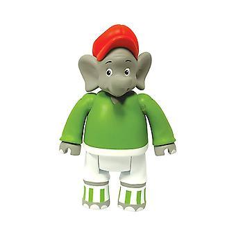 Jazwares - Benjamin the Elephant (As a Football Player) Toy
