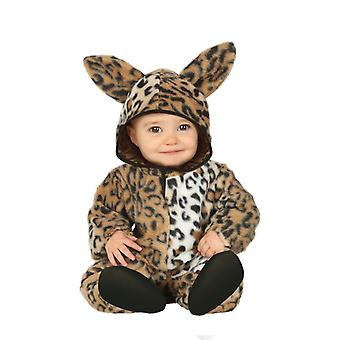 Peuters Childrens Leopard fancy dress kostuum